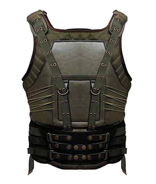 Green Military Style Tom Hardy Vest