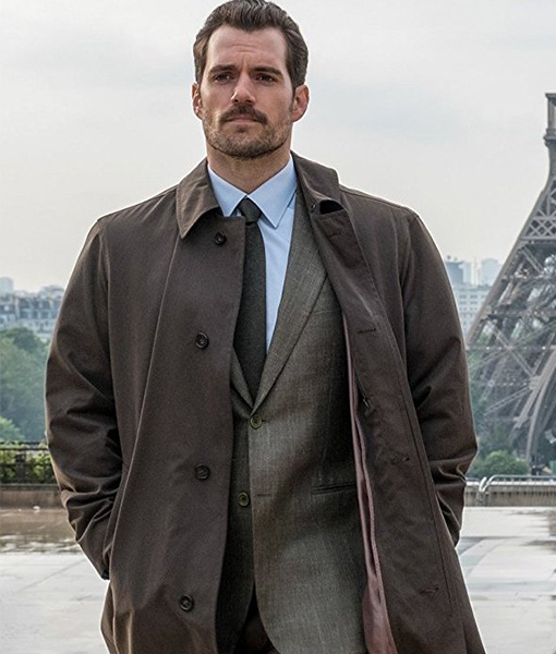Mission-Impossible-Fallout-Henry-Cavill-Brown-Trench-Coat-Front-Zoom