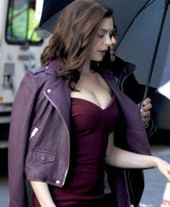 Oceans 8 Anne Hathaway Asymmetrical Leather Jacket