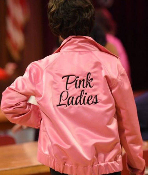 Pink Ladies Sandy Grease Jacket
