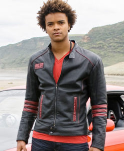 Power Rangers RPM Scott Truman Leather Jacket