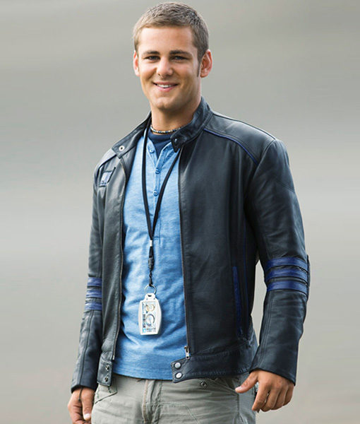 Rpm Flynn Mcallistair Power Rangers Leather Jacket