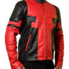 Ryan-Reynolds-Deadpool-Red-and-Black-Leather-Jacket-Right