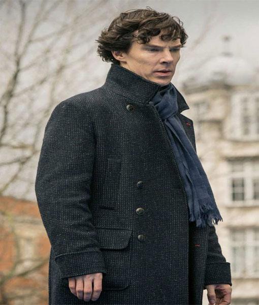 Benedict Cumberbatch Sherlock Coat