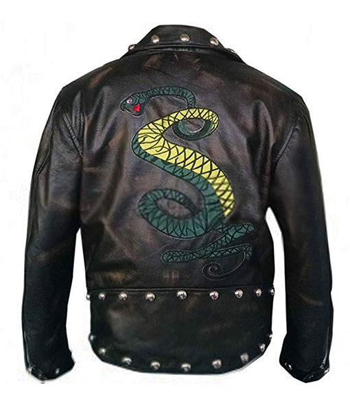 Tunnel Snakes Rule Jacket Back