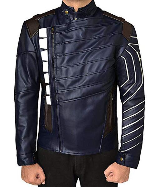White Wolf Winter Soldier Jacket Avengers Infinity War