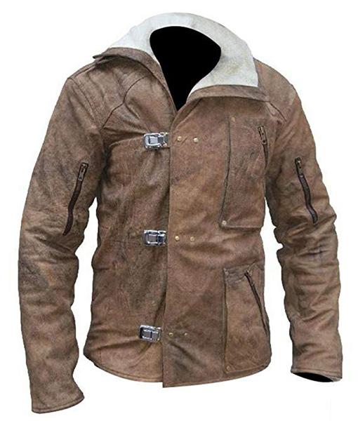 William-B.J.-Blazkowicz-Wolfenstein-Fur-Brown-Leather-Jacket-Front