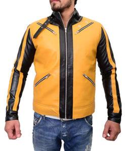 Wolfenstein 2 New Colossus Yellow Leather Jacket
