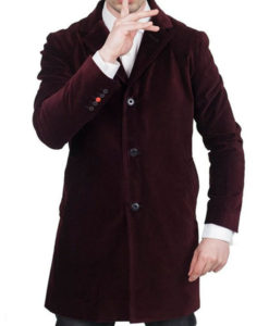 12th Doctor Who Maroon Coat