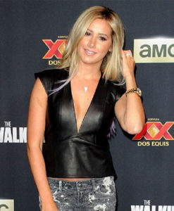 Ashley Tisdale Walking Dead Premiere Vest