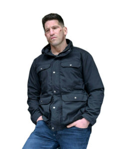 Bernthal Mens Cotton Black Jacket
