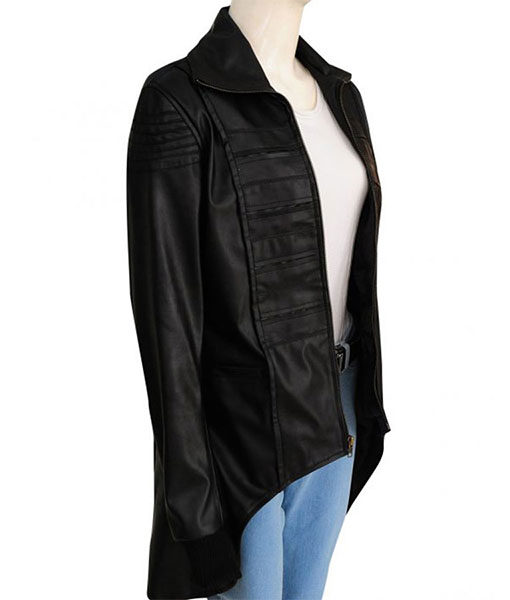Camren Bicondova Gotham Black Jacket