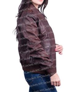 Captain Marvel Carol Danvers Leather Jacket