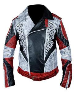 Carlos Descendants 2 Genuine Leather Jacket