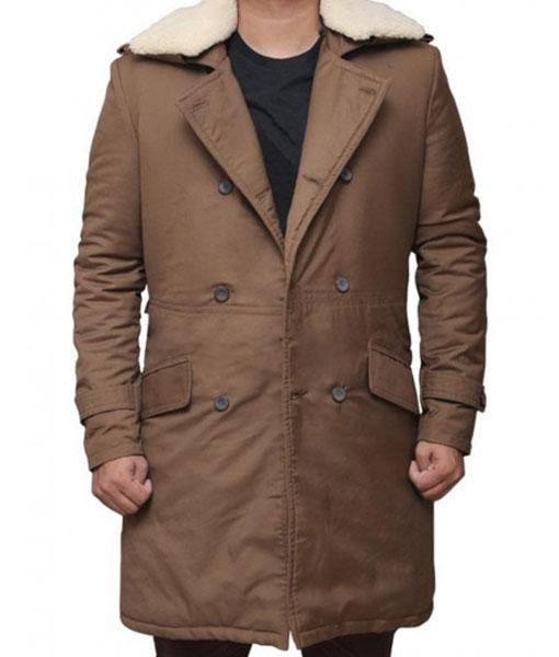 Chris Pine Wonder Woman Fur Coat
