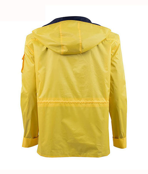 Dark Jonas Kahnwald Yellow Hooded Jacket
