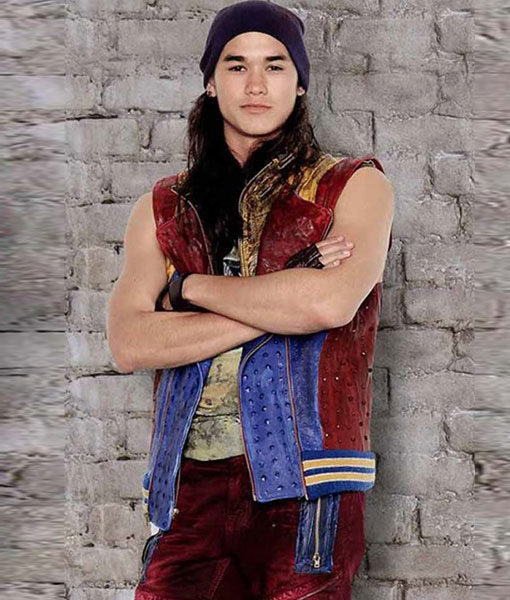 Descendants-2-Jay-Leather-Vest-Front
