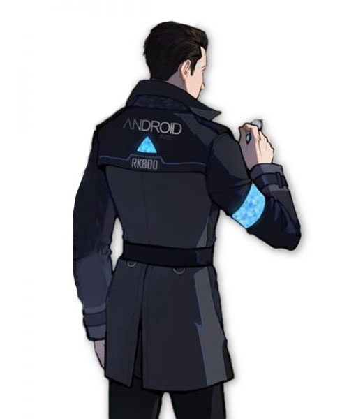 Detroit Become Human Connor Long Coat