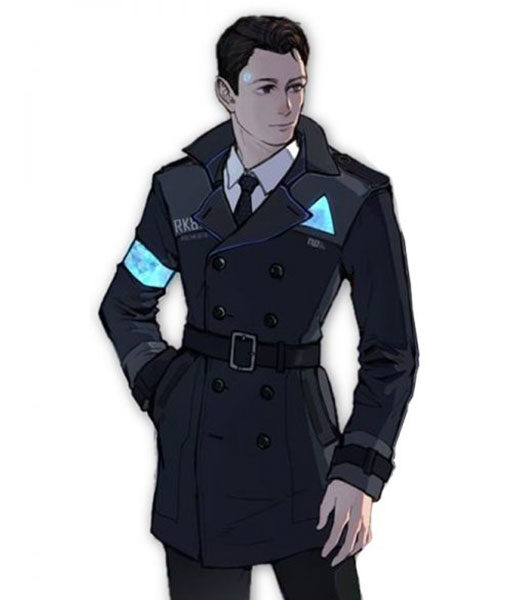 Detroit Become Human Connor Long Coat