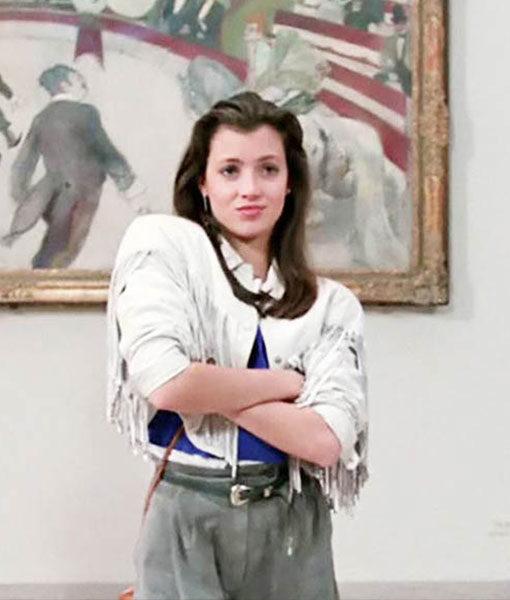 Ferris-Vintage-White-Women-Leather-Fringe-Jacket-M