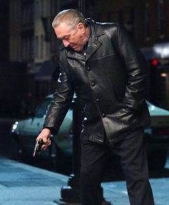 Frank Sheeran The Irishman Black Leather Jacket