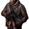 Game Tom Clancys The Division Brown Jacket