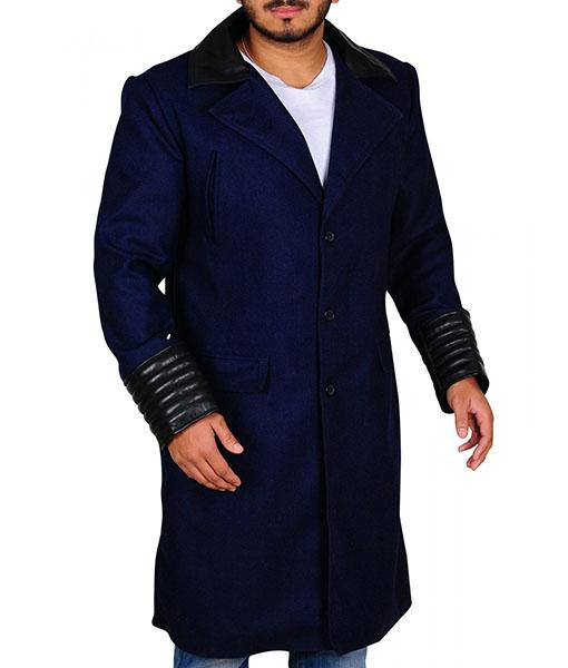 Gotham David Mazouz Trench Coat