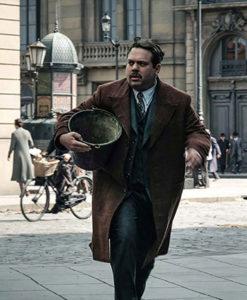 Jacob Kowalski Fantastic Beasts 2 Brown Coat