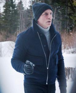 James Bond Spectre Lake Blue Jacket