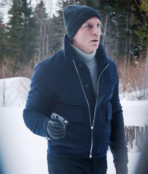 James Bond Spectre Lake Blue Jacket