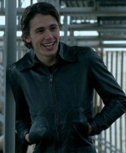 James Franco Freaks and Geeks Black Leather Jacket