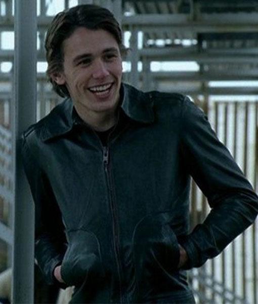 James Franco Freaks and Geeks Black Leather Jacket