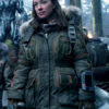 Lost In Space Molly Parker Parka Jacket (3)