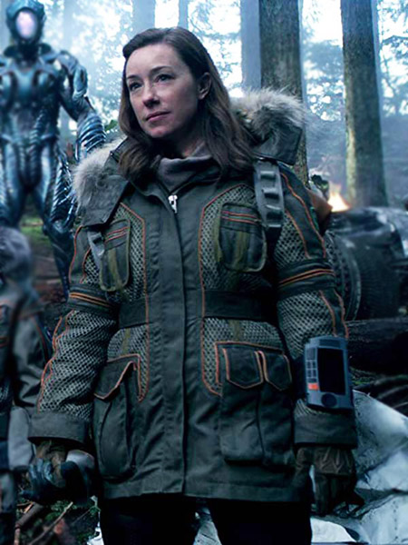 Lost In Space Molly Parker Parka Jacket