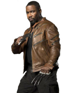 Michael Jai White Arrow Season 2 Bronze Tiger Jacket
