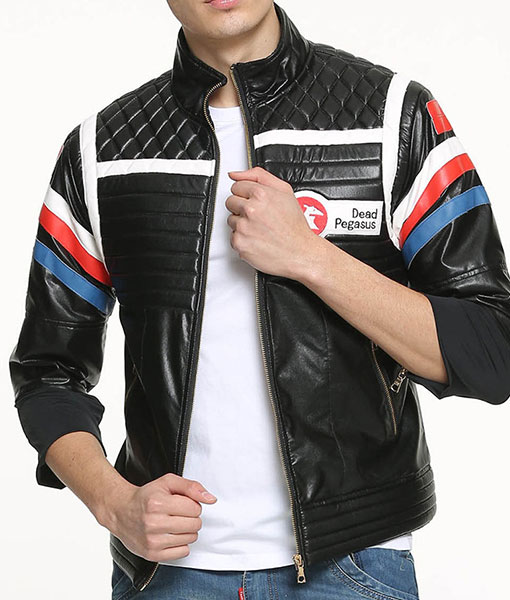 Mens My Chemical Romance Poison MCR Party Biker Style Leather Jacket