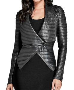 Riverdale Cheryl Blossom Black Pleated Jacket
