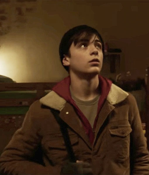 Shazam Billy Batson Brown Jacket
