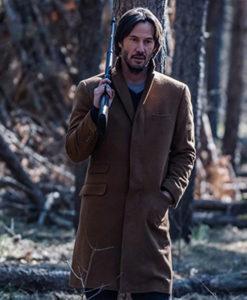 Siberia Lucas Hill Brown Wool Coat