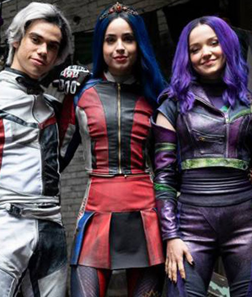 Sofia Carson Descendants 3 Leather Jacket
