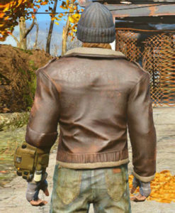 The Boston Looter Fallout 4 Leather Jacket