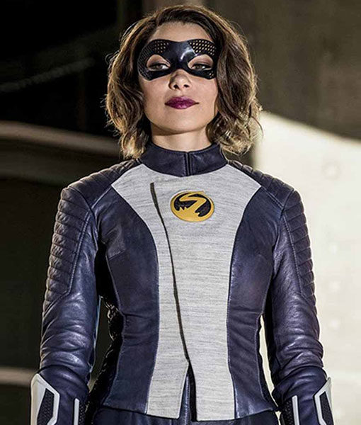 The-Flash-Nora-West-XS-Leather-Jacket-Front