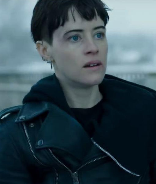 The Girl In The Spider Web Lisbeth Salander Leather Jacket