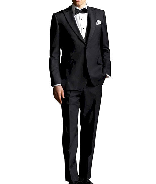 The Great Gatsby Black Suit