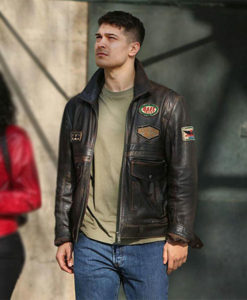 The Protector Cagatay Ulusoy Brown Leather Jacket