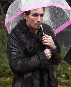 The Umbrella Academy Klaus Shearling Coat