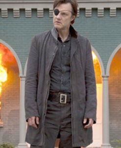 The Walking Dead David Morrissey Trench Coat