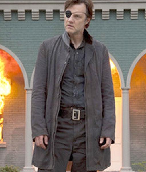 The Walking Dead David Morrissey Trench Coat