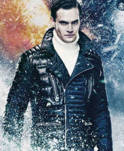 Viking Cold Pursuit Tom Bateman Black Padded Jacket