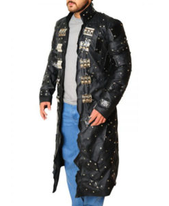 WWE Mattel Edge Elite Black Leather Coat